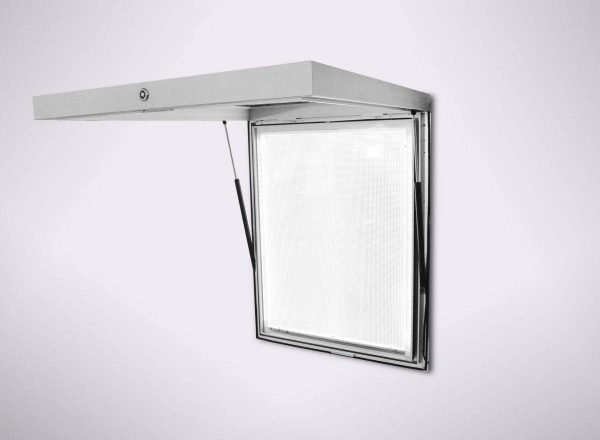 LED Light Box HF57 Top Hinged With Gas Struts