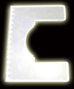 LED light sheet Cut to special shape