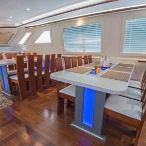 Bespoke LED Interior Lighting In Yachts