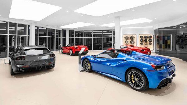 Car Showroom Lighting