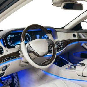 Illuminated Car Interior