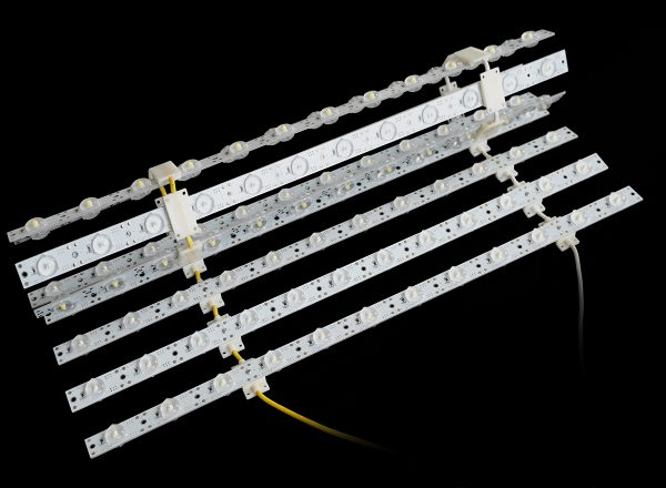 Astrolux LED backlighting assembly