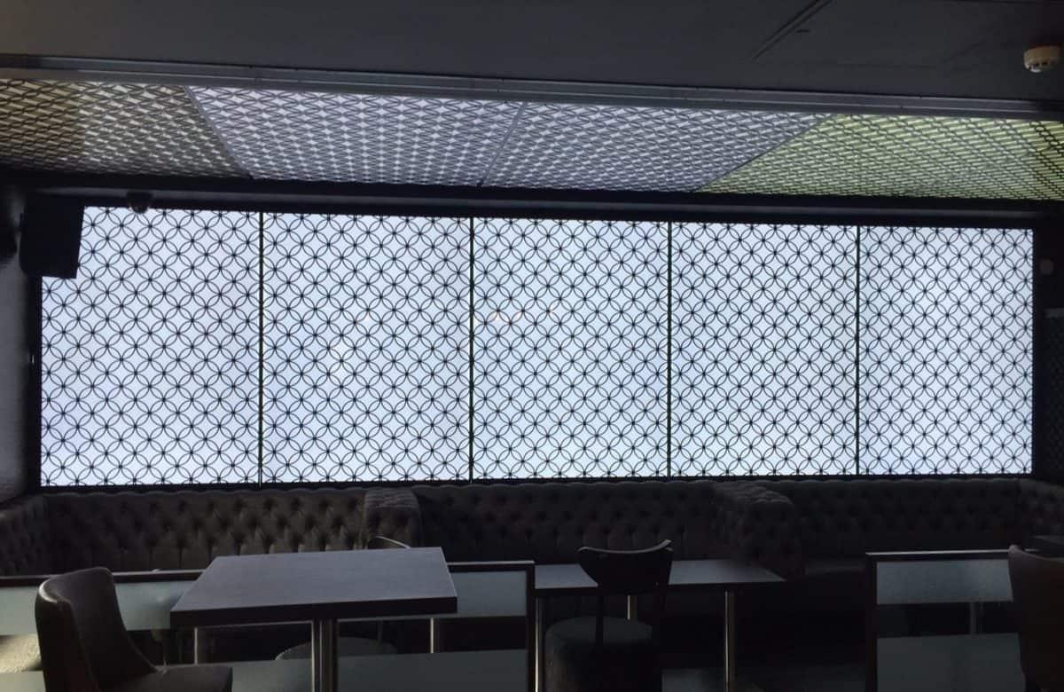 Metal Sheet Perforated Lighting